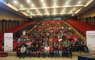 Foto Bersama GDG Game DevFest 2015 Surabaya