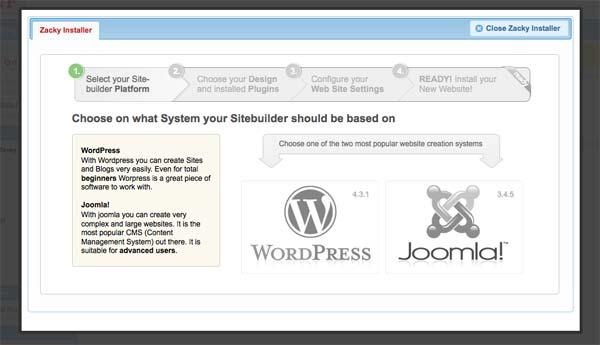 Script Installer pada salah satu webhosting gratis