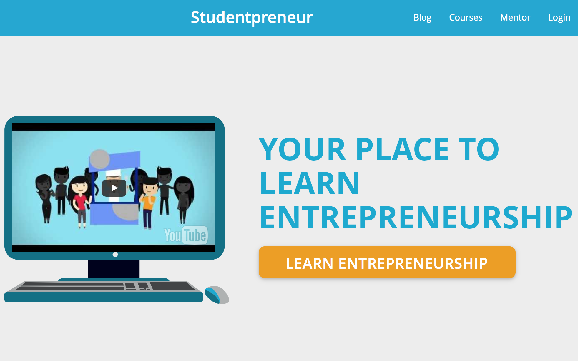Studentpreneur Website