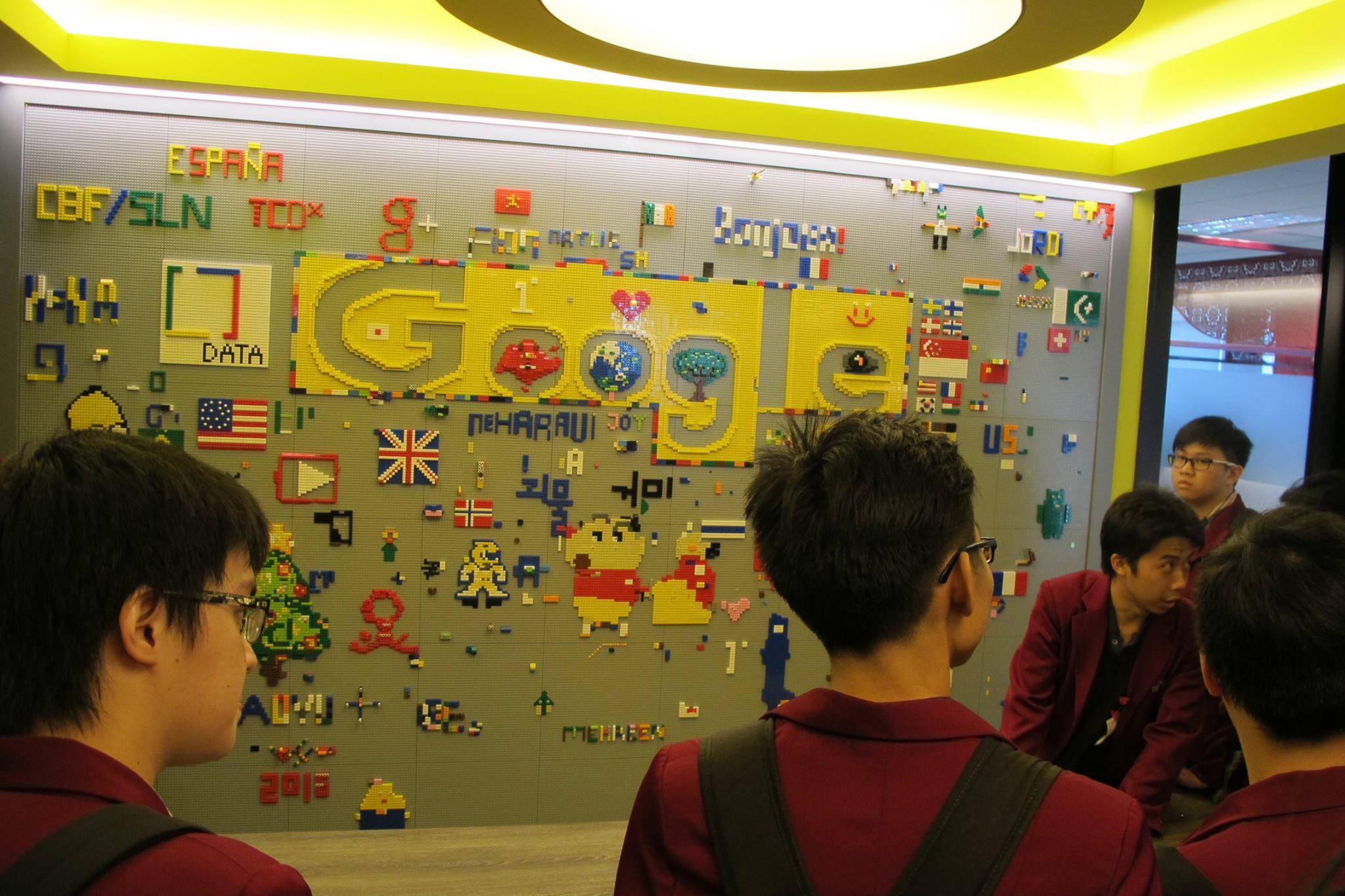 Suasana Lego Room di Google Singapore
