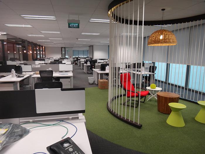 Tempat Kerja di Kantor Google Singapore