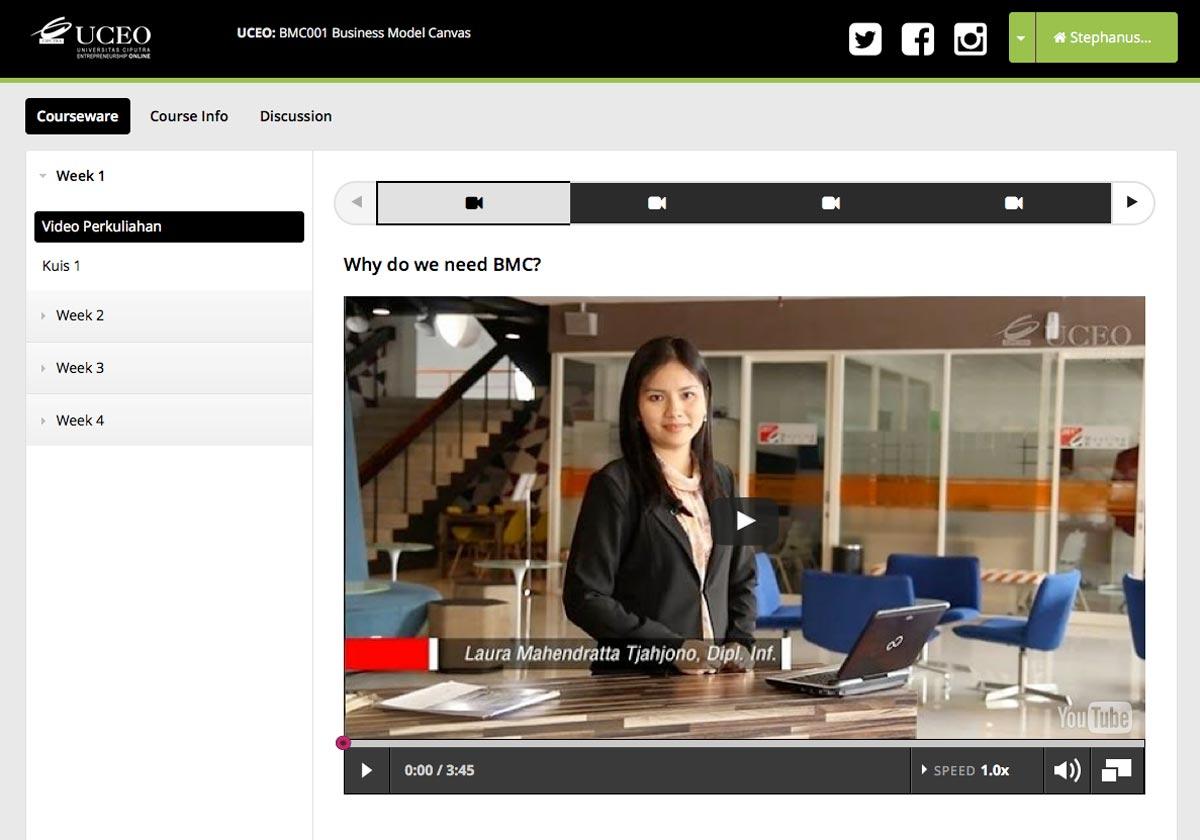 Selamat menikmati Belajar Online Entrepreneurship Secara Gratis bersama UCEO