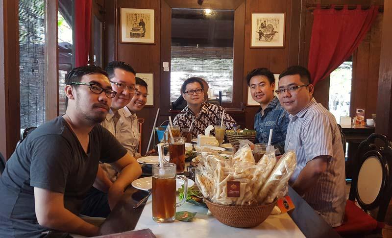 Makan Siang bersama sekaligus networking bersama Arief Widhiyasa
