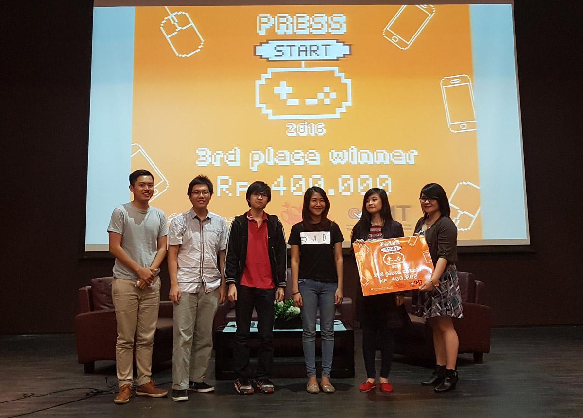 Press Start 2016 3rd Winner: Yellow Squad
