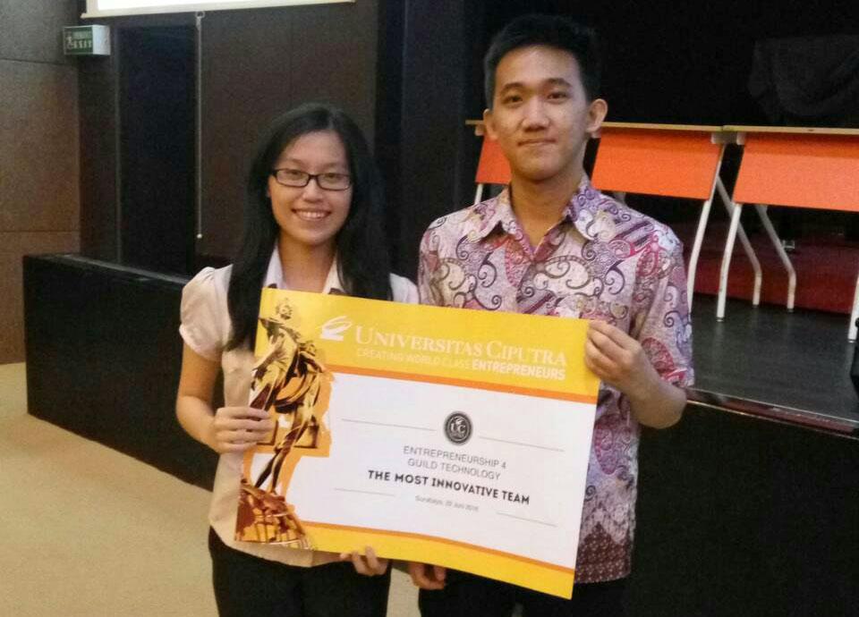 Most Innovative Team, Entrepreneur Class