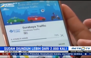 Surabaya Traffic di Metro TV News