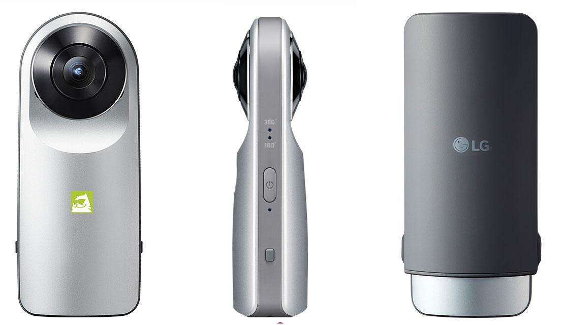 Kamera 360: LG 360