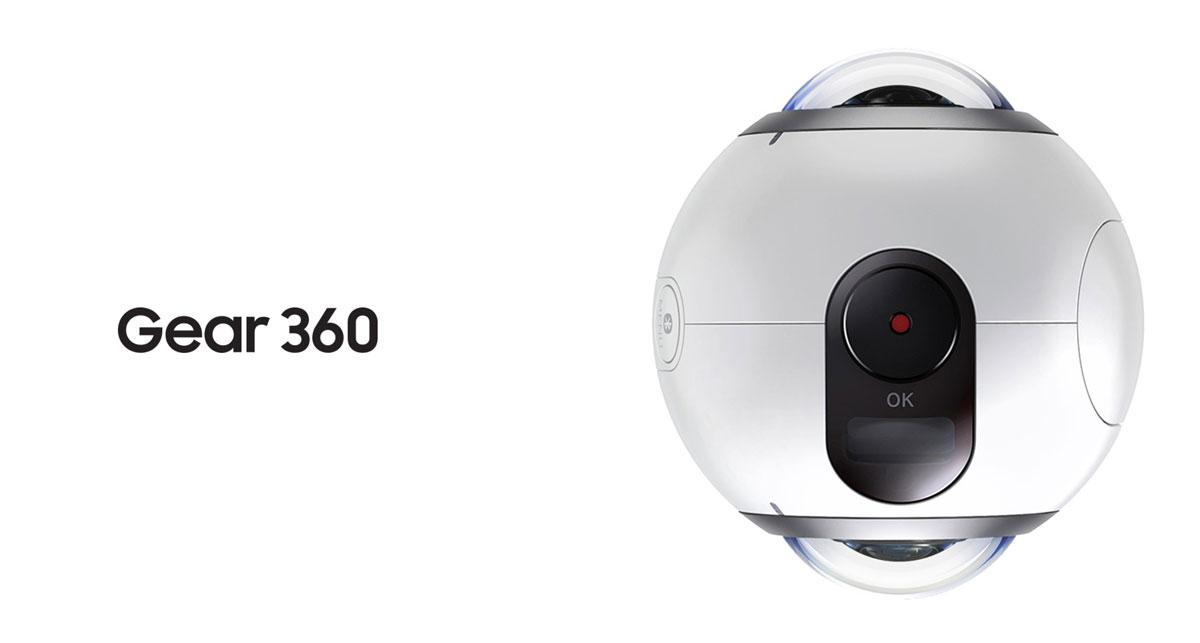 Kamera 360: Samsung Gear 360