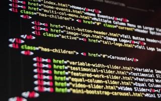 Coding, courtesy of Pixabay