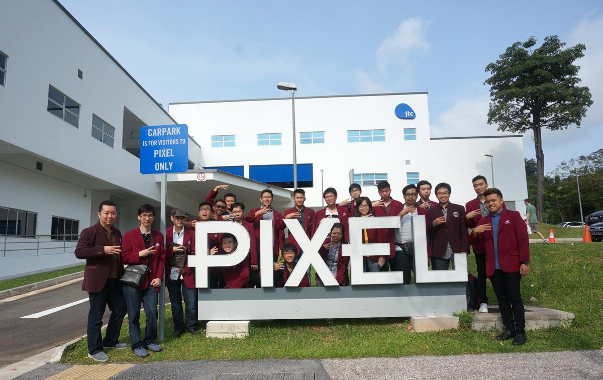 Kunjungan Teknik Informatika UC Surabaya ke PIXEL Singapore, Inkubator Game Developer dan Social Media Activist