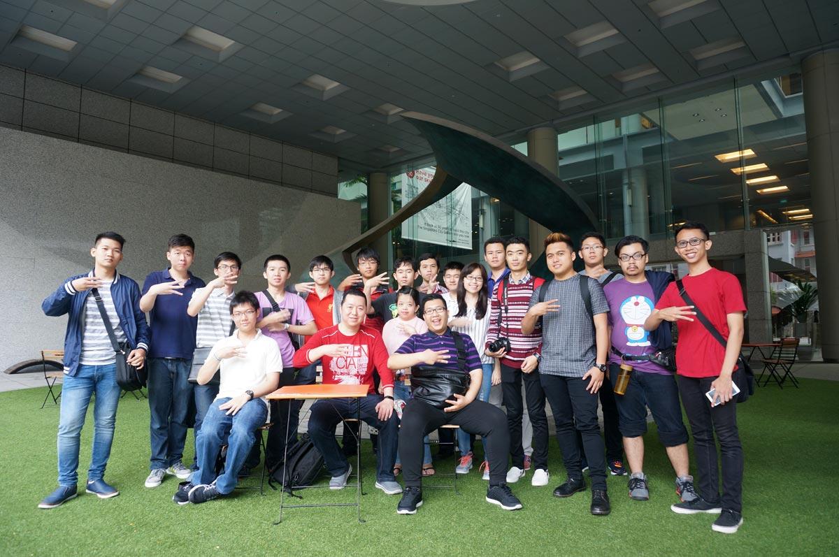 Melihat perkembangan Singapore di Singapore URA City Center