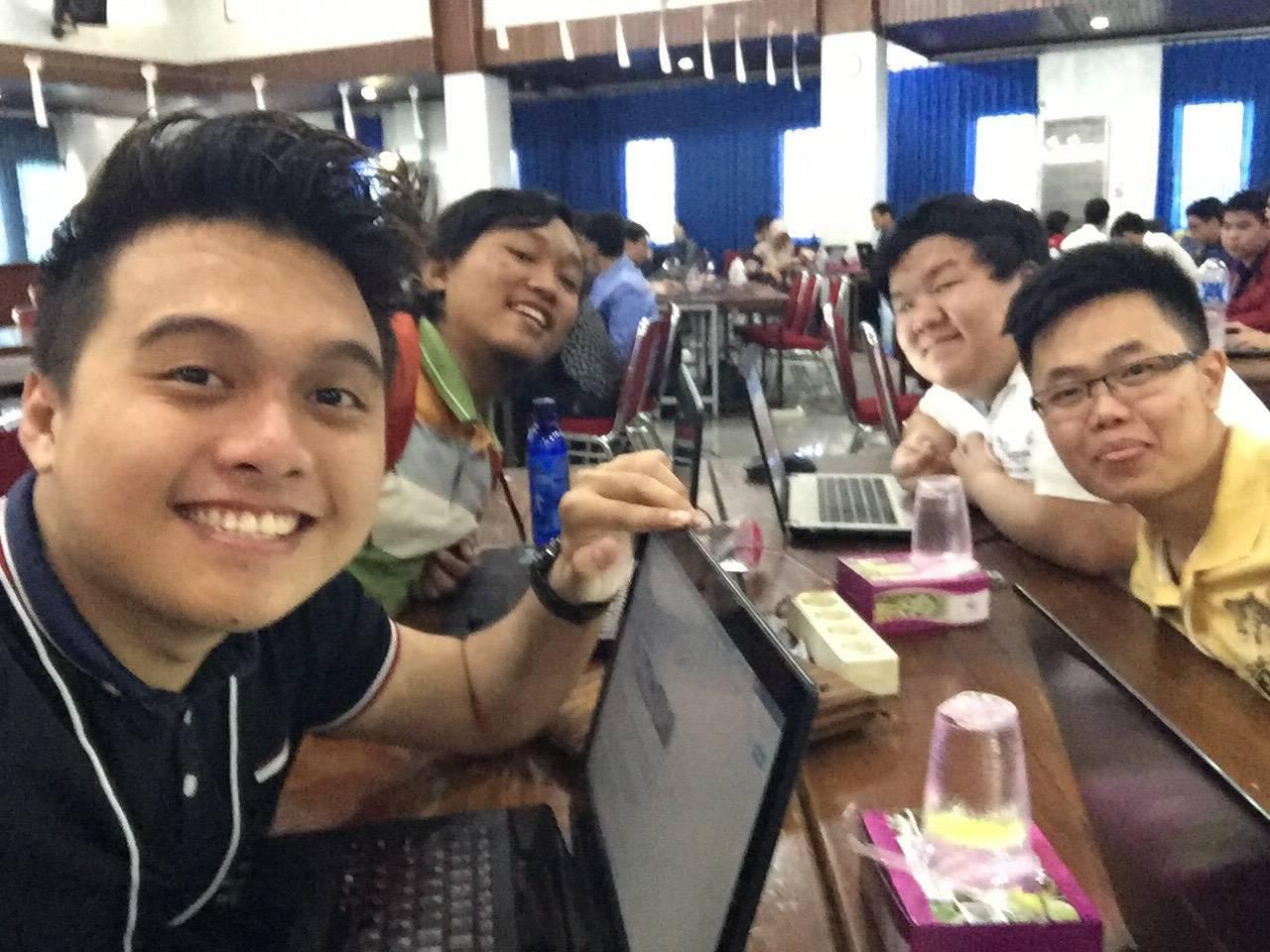 Mahasiswa IMT UC bersiap mengikuti Hack Fest 2017 di Yogyakarta