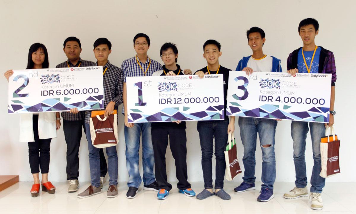 Para Pemenang 90K Code kategori Umum