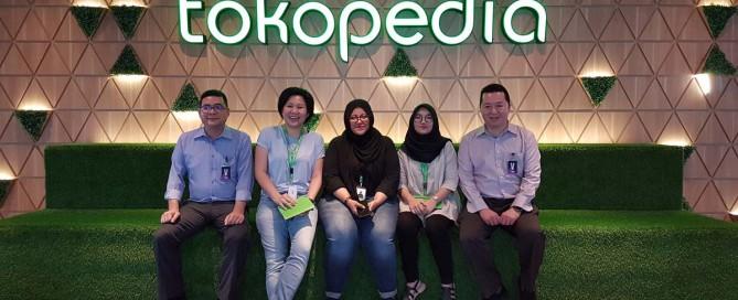 Team Informatika dan Sistem Informasi Universitas Ciputra berkunjung ke Tokopedia headquarter.
