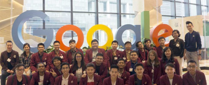 Visit to Google Asia Pacific Headquarters at Singapore 25 Januari 2018