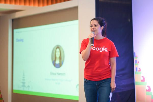 Erica Hanson dari Google Asia Pacific