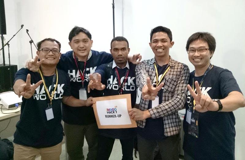 Yuwono - Dosen Informatika UC team Runner Up Imago Hack 7