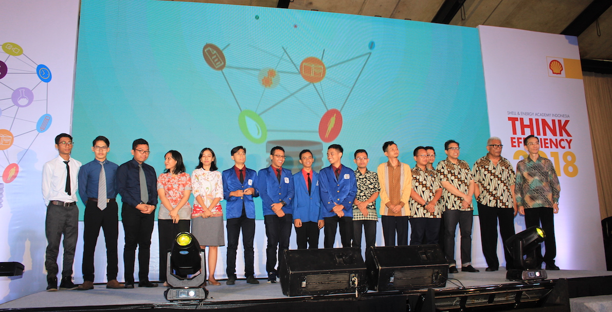 Para Finalis Think Efficiency 2018