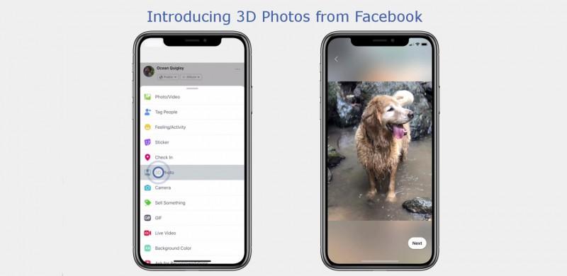 Facebook 3D
