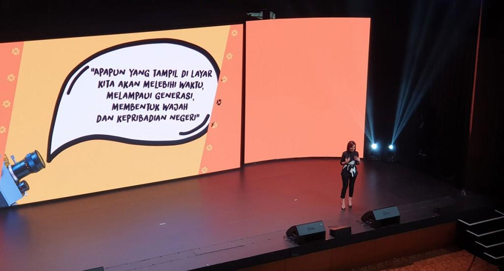 Pesan Najwa Shihab dalam ajang Google for Indonesia 2018