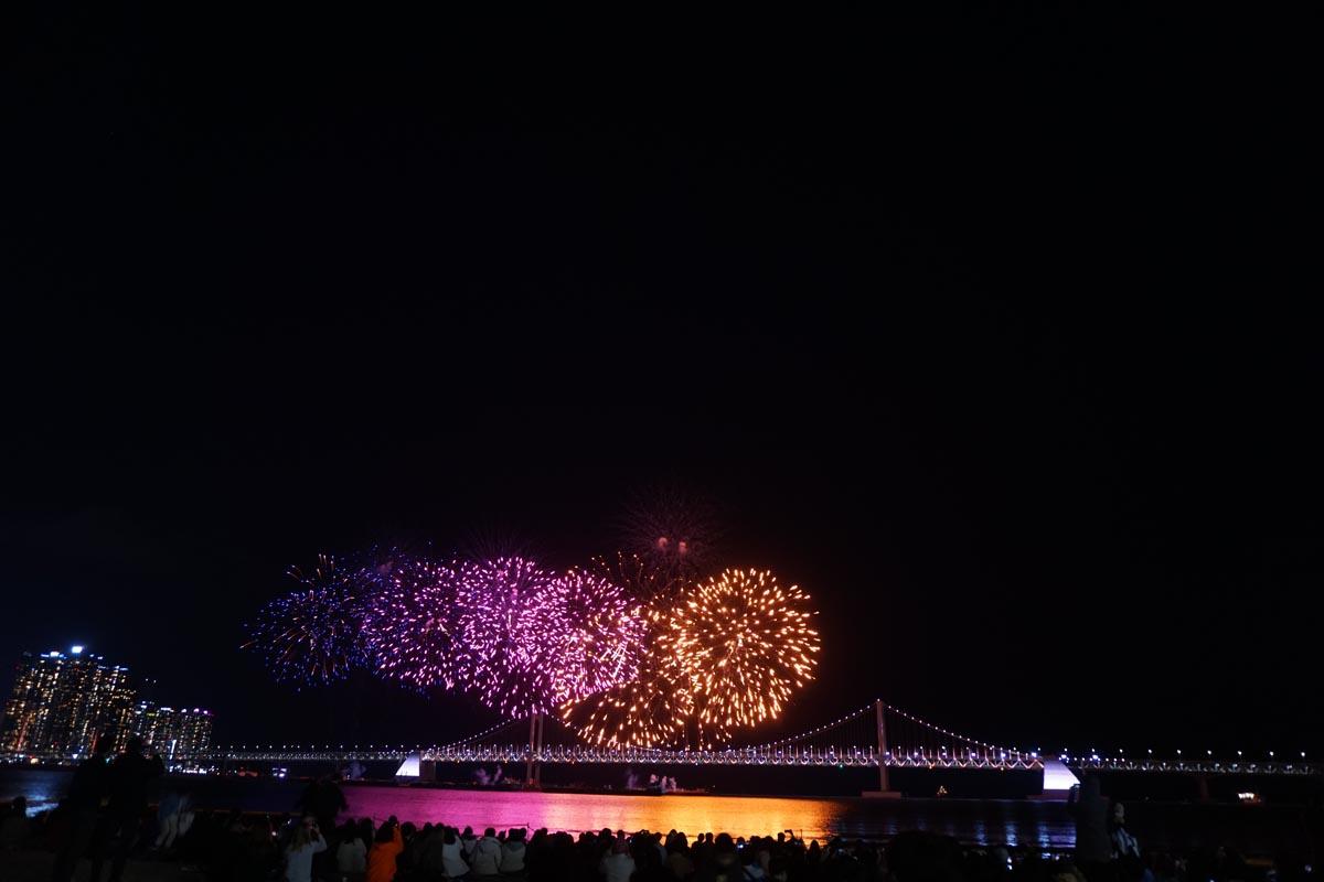 Busan Firework Festival 2018