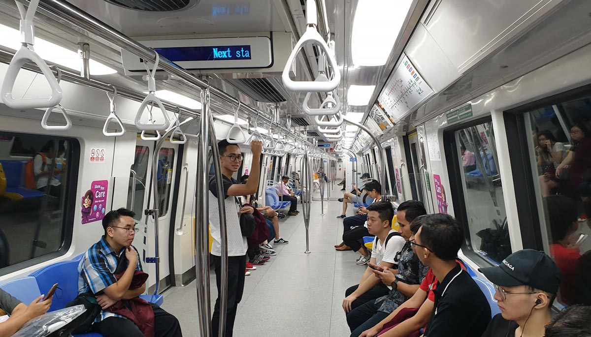 MRT di Singapore yang juga didambakan di kota-kota besar Indonesia