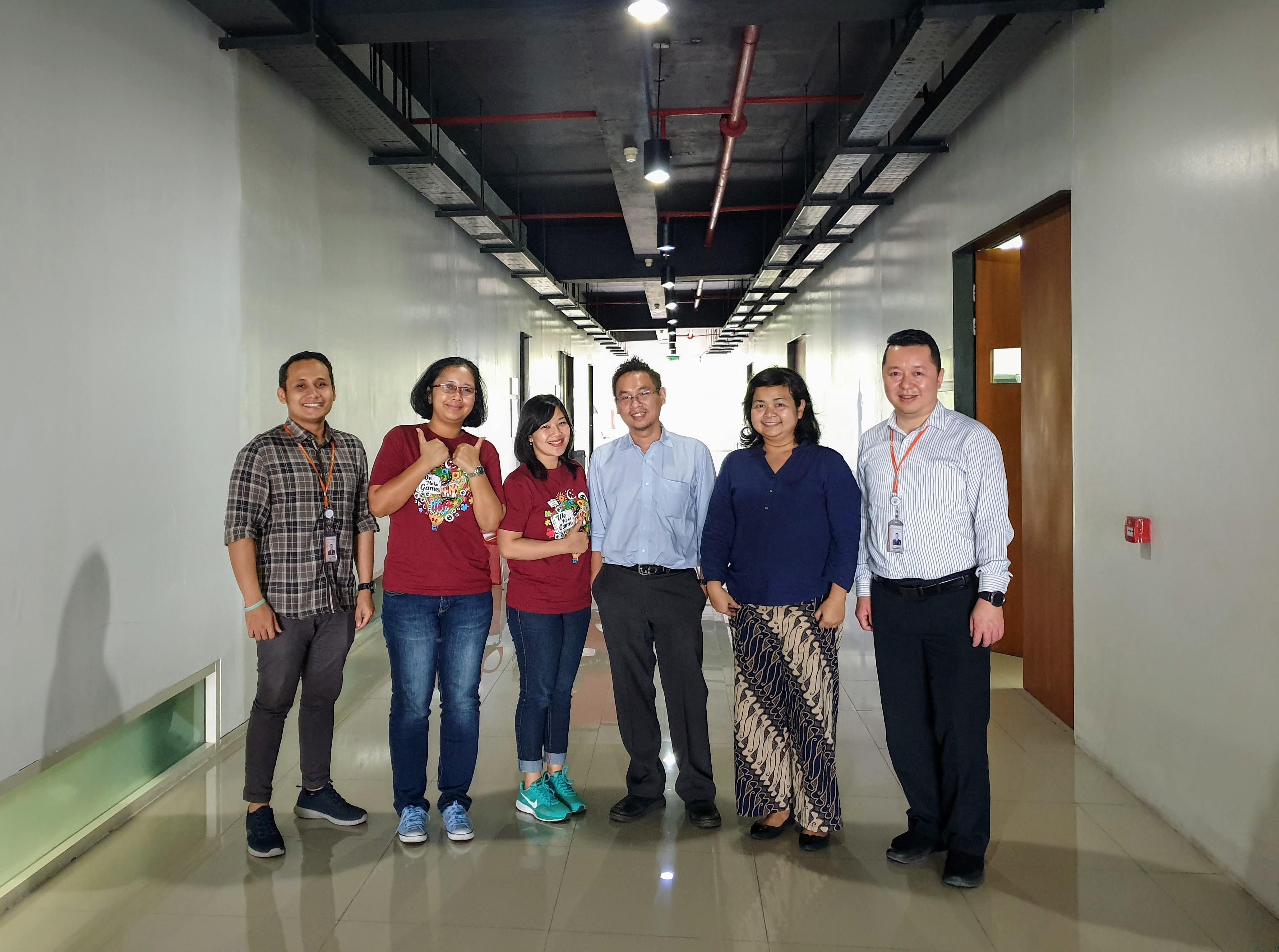 Game Loft Indonesia visit to Informatika (IMT) Universitas Ciputra