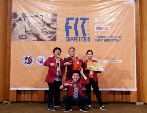 Juara 1 Mobile Application – FIT Competition 2019