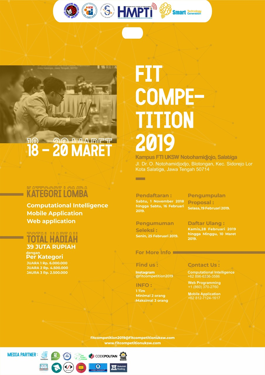 Poster FIT Competition 2019
