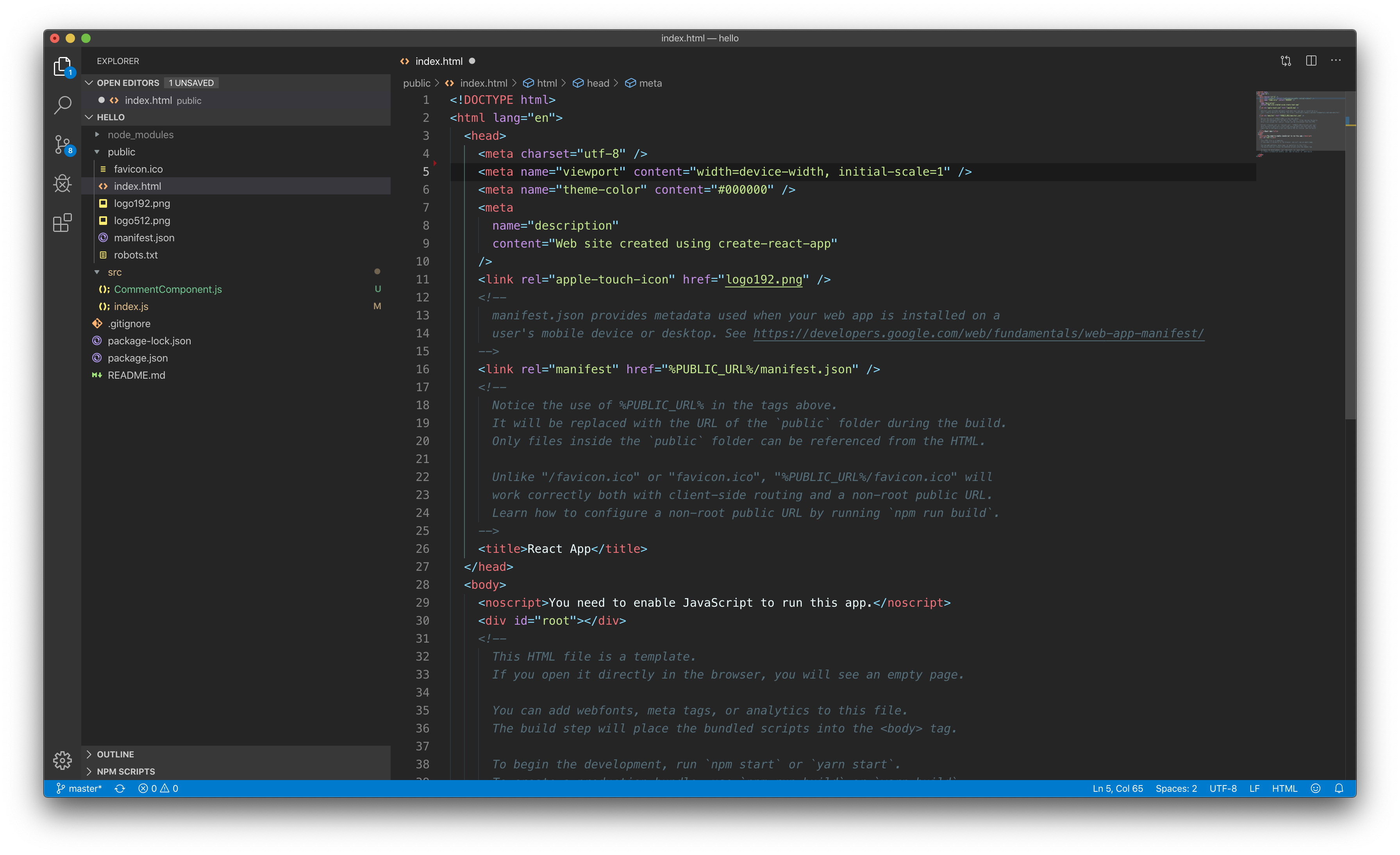 Sublime Material Theme - Dark