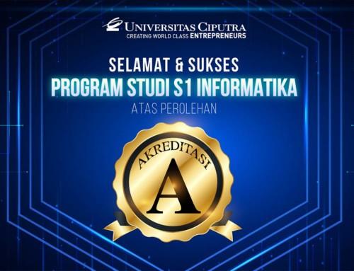 Akreditasi A – Program Studi Informatika UC