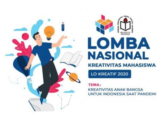 Finalis Lomba Nasional Kreativitas Mahasiswa 2020