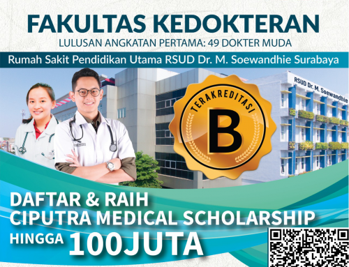 CIPUTRA MEDICAL SCHOLARSHIP