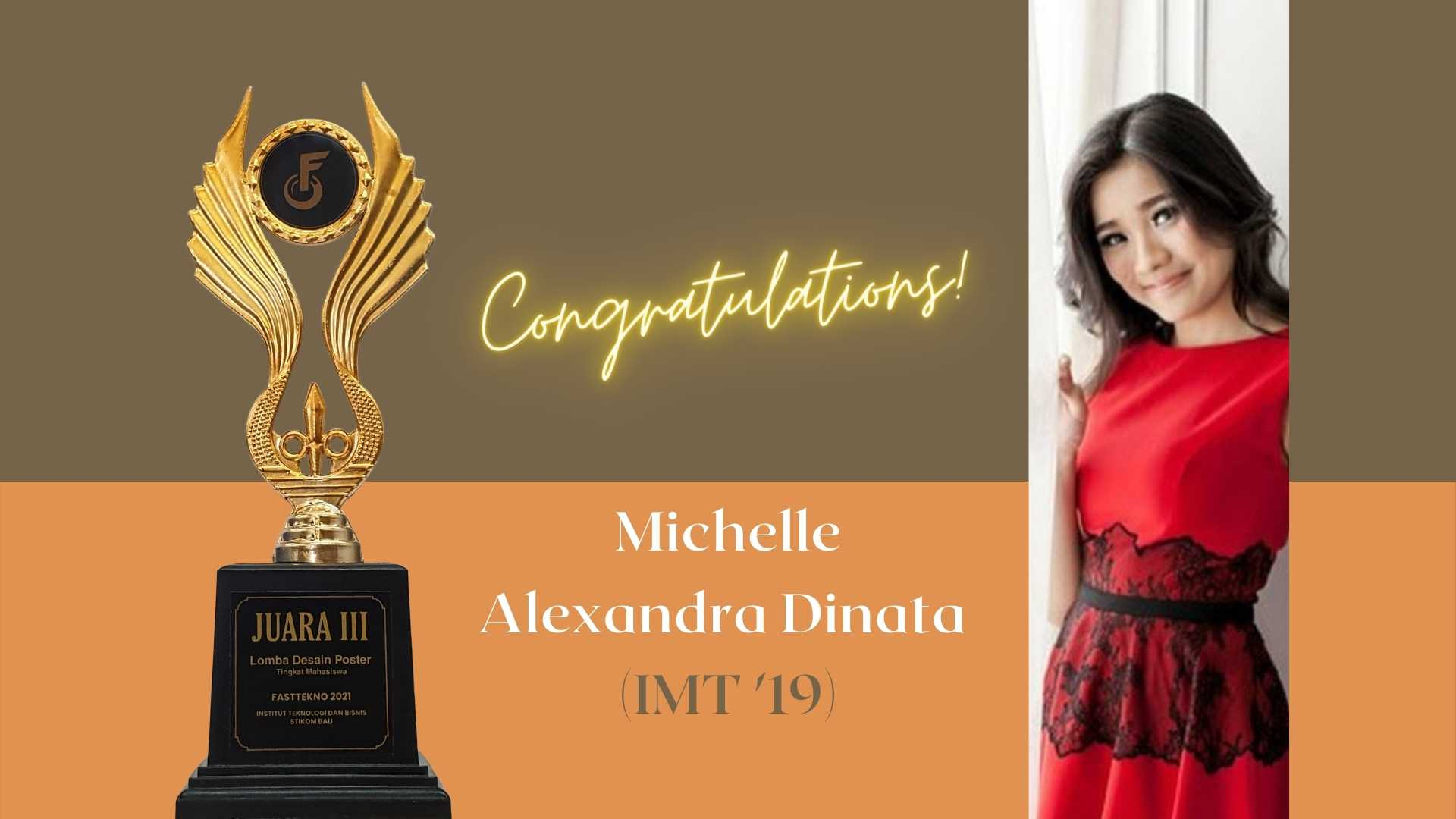 Michelle Juara III FastTekno 2021 - Kategori Poster