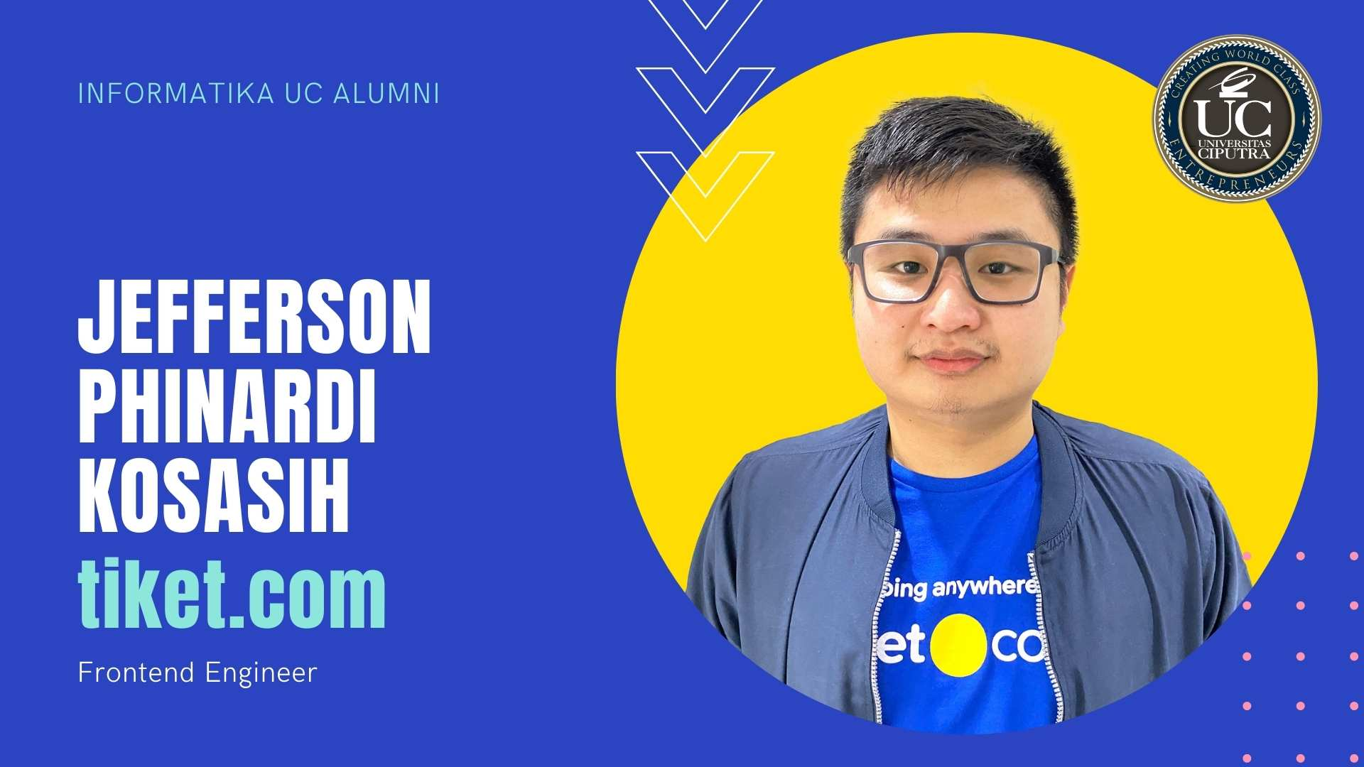 Jefferson Phinardi Kosasih, tiket.com - FrontEnd Engineer